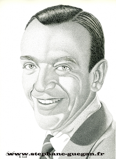 Fred Astaire by GUEGAN